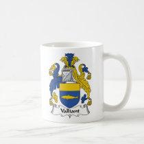 Valliant Family Crest Mug