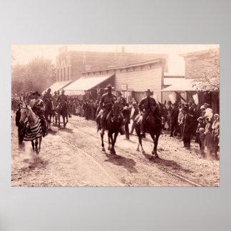 Vallonia Indiana Home Guard Oct 16 1912 Print