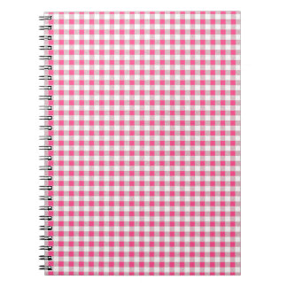 Valmont Plaid in Pink Notebook