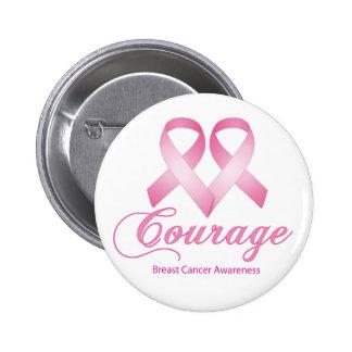 Valor, botón de la conciencia del cáncer de pecho