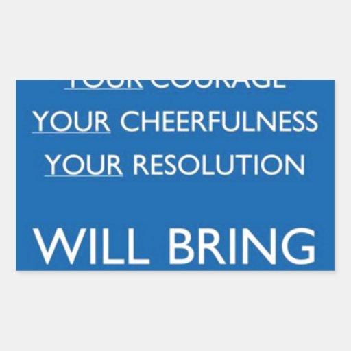 Valor, Cheerfulness, resolución Rectangular Altavoz
