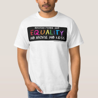 Valor de la igualdad polera