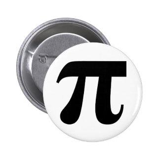 Valor del π del pi del constante matemático del pi pins