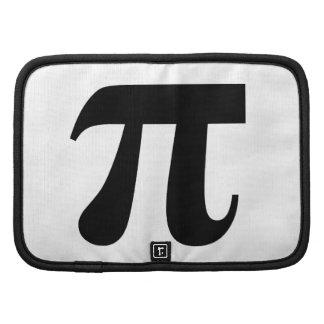 Valor del π del pi del constante matemático del pi organizadores