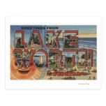 Valor del lago, la Florida - escenas grandes de la Tarjetas Postales
