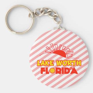 Valor del lago la Florida Llavero Personalizado