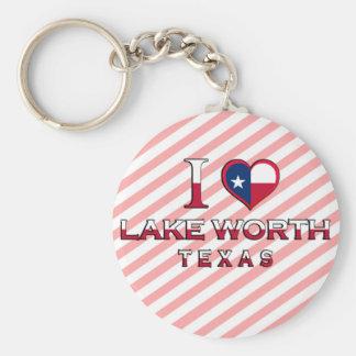 Valor del lago Tejas Llaveros Personalizados