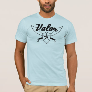 Valor - Swords & Shield T-Shirt