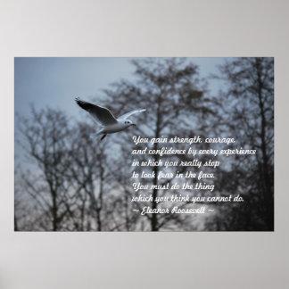 Valor y confianza posters