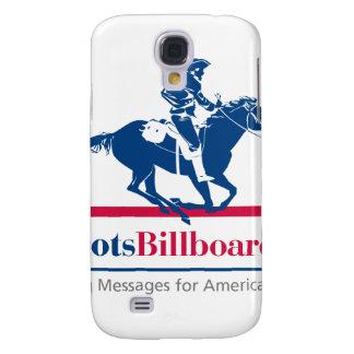 Valores americanos de la ayuda con Patriotsbillboa Funda Para Galaxy S4