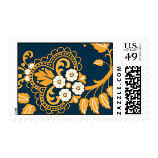 Valorie - flower detail postage stamps