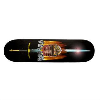 valour and fire skateboard