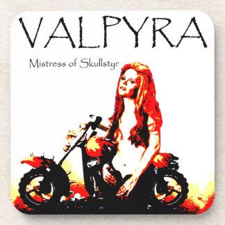 Valpyra & The Grim Reaper Hog by Valpyra Beverage Coaster