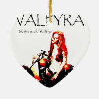 Valpyra & The Grim Reaper Hog by Valpyra Ceramic Ornament