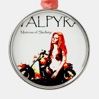 Valpyra & The Grim Reaper Hog by Valpyra Metal Ornament