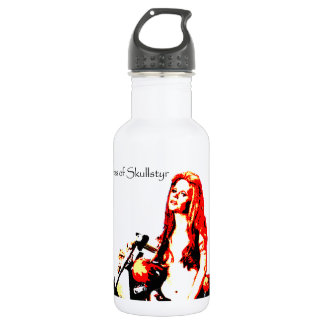 Valpyra & The Grim Reaper Hog by Valpyra 18oz Water Bottle