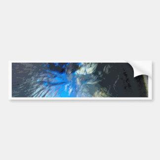Vals azul pegatina para auto