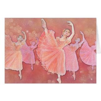 Vals de la tarjeta de felicitación del ballet de l