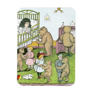 Vals de los osos de peluche con las muñecas iman