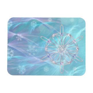 Vals del imán flexible de los copos de nieve