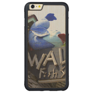Vals Funda Para iPhone 6 Plus De Carved® De Nogal