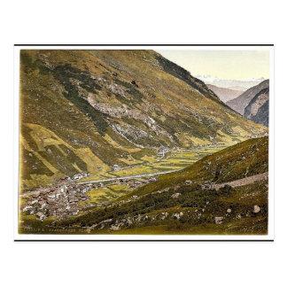Vals, Grisons, Switzerland classic Photochrom Postcard