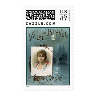 Valse des Blondes Postage
