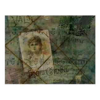 Valse des Blondes Postcard