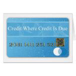 Valu profesional administrativo del tiempo del tarjeta de felicitación