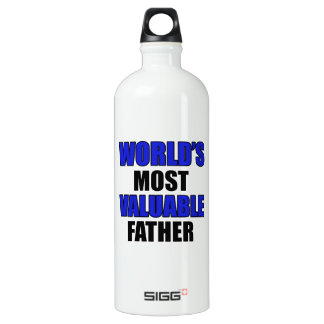valuable father water bottle
