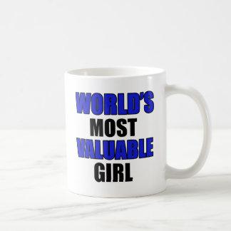 valuable Girl design Coffee Mug
