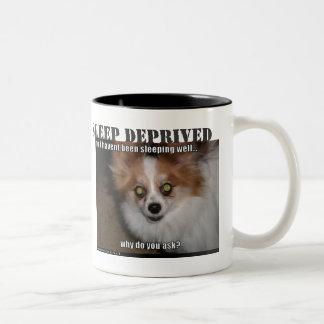 Valuable Sleep Two-Tone Coffee Mug