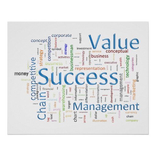 Value And Success Related Text Print