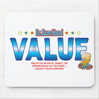 Value Dr Bum Head Mousemats