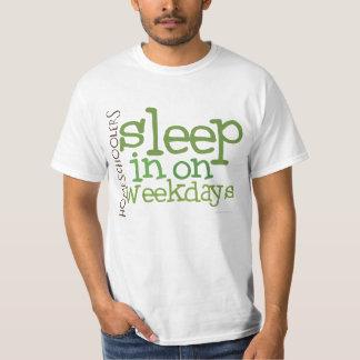VALUE Homeschool t-shirt: Sleep in T-Shirt