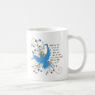 Value of Birds Classic White Coffee Mug