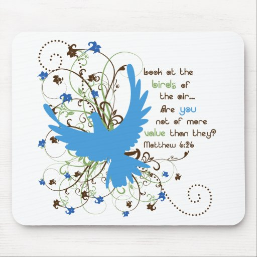 Value of Birds Mouse Pads