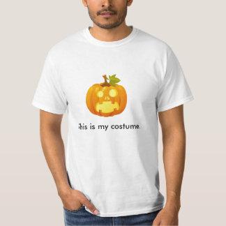Value Pumpkin Costume Shirt