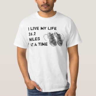 Value T - Life 26.2 miles at a time /  HRC logo T-Shirt