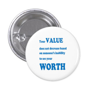VALUE worth social wisdom spiritual practical GIFT Button