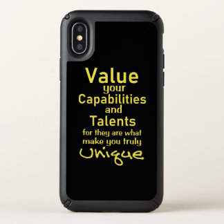 Value Your Talents - Quotes On iphone Cases