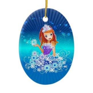 Valuegem Christmas Snow Fairy Ornament