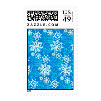 Valuegem Holiday Snow Flakes Postage Stamps