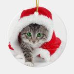 Valuegem Santas Christmas Kitten Ornament