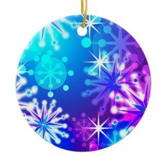 Valuegem Snow Flakes Christmas Ornament ornament