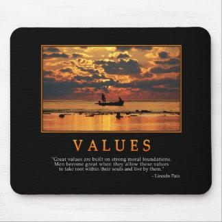 Values Mousepad