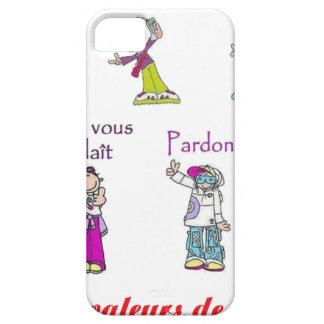 VALUES Of FRANCE.png iPhone SE/5/5s Case