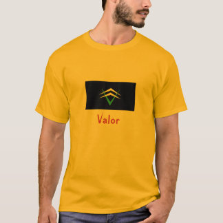 Values, Pass it on: Valor T-Shirt