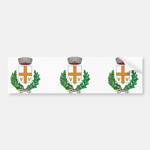 Valvasone Stemma, Italia Etiqueta De Parachoque