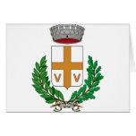 Valvasone Stemma, Italia Tarjeta
